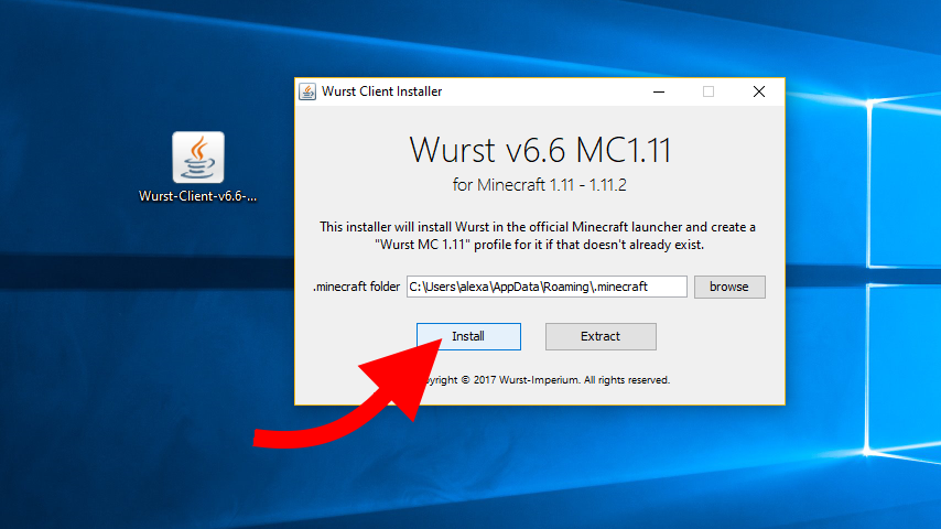 how to download wurst 1.11
