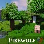Скачать Ресурспак для Minecraft Firewolf 1.11