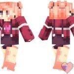 Скин девочки в розовом — «Лиззи»