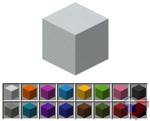 Новый предмет в Майнкрафт 1.12 - Бетон