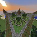 Готовый спавн для сервера Майнкрафт «by Smaile7321 2»