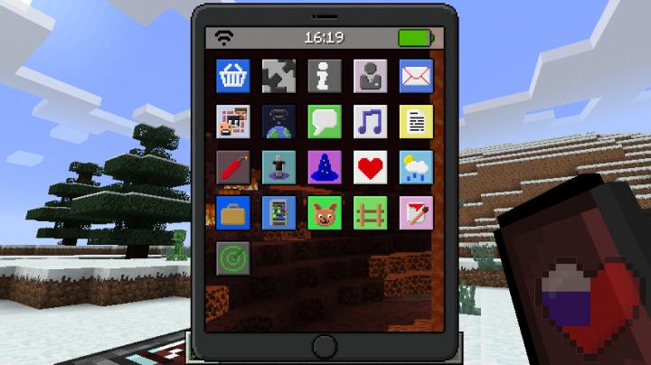 """Мод на телефон """"EyeMod"""" для Майнкрафт 1.12.2"""