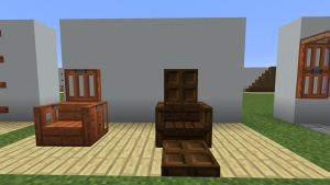 Идеи использования новых люков в декоре Майнкрафт 1.13
