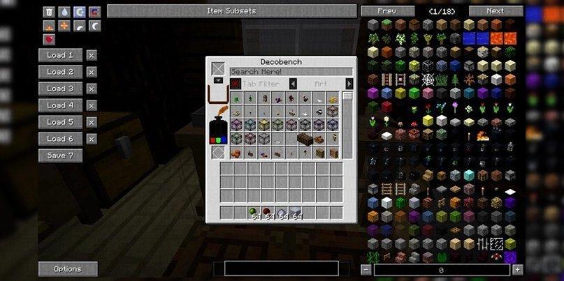 Мод на декор DecoCraft 2 - скриншот 1