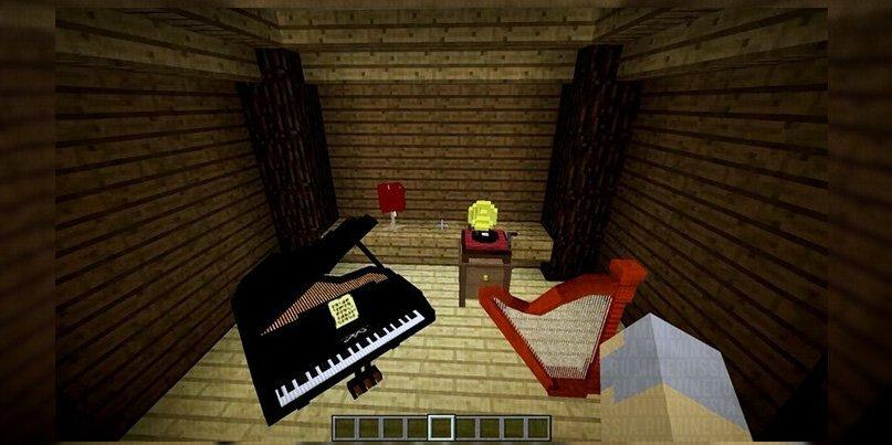 Фортепьяно и арфа