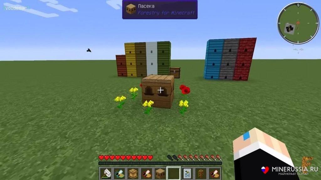 Мод на пчёл «Forestry» - скриншот 3