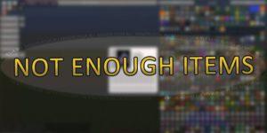 Not Enough Items (NEI) для Майнкрафт 1.13.2/1.12.2/1.11.2