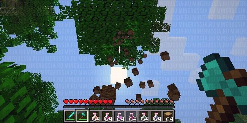 TreeCapitator - сруби дерево в один клик