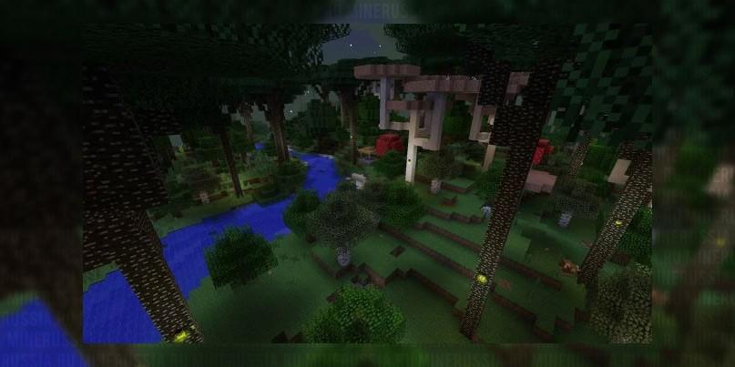 "Мод на Сумеречный лес ""Twilight Forest"" для Майнкрафт 1.12.2/1.7.10"