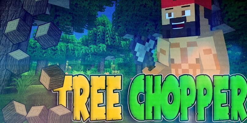 tree-chopper руби дерево в один клик