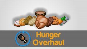 Мод Hunger Overhaul для Майнкрафт 1.12.2/1.7.10