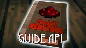 Мод Guide API для Майнкрафт 1.12.2/1.10.2/1.7.10