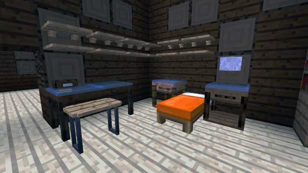 Пример обустройства комнаты