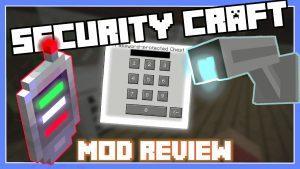 Скачать мод Security Craft на камеры и кодовые замки бесплатно