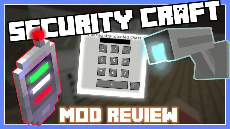 Мод Security Craft для Майнкрафт 1.16.4/1.14.4 /1.12.2