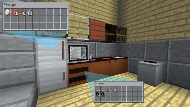 Мод Useful Interior для Майнкрафт 1.12.2