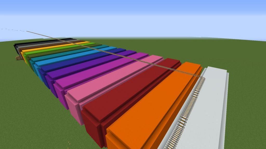 Карта Color Parkour для Майнкрафт 1.13.2