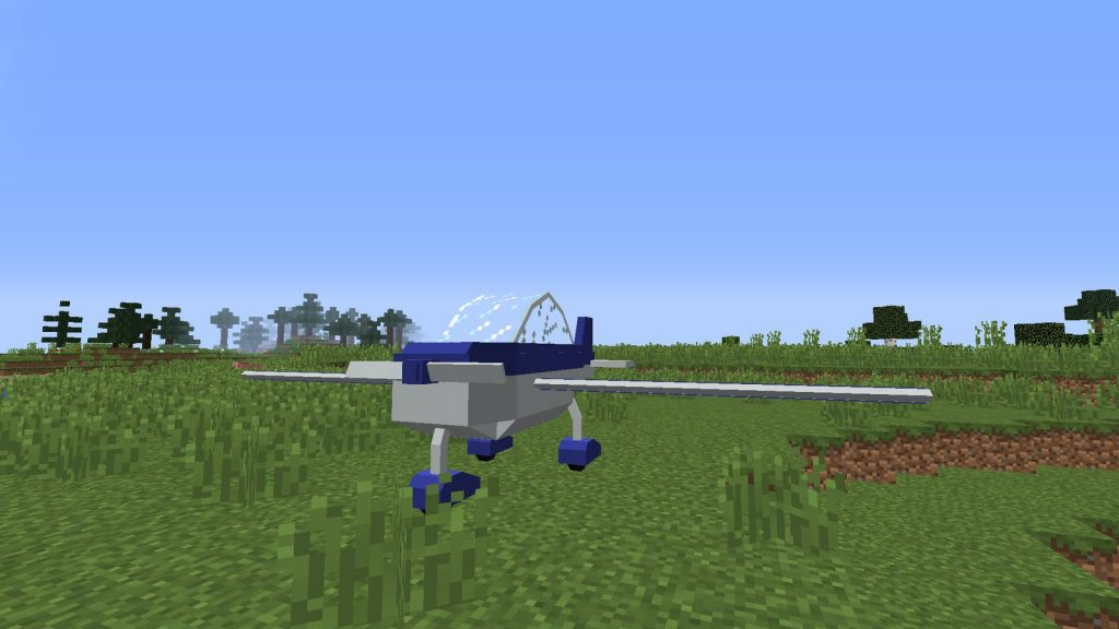 "Мод на самолёт и машины ""MrCrayfish's Vehicle"" для Майнкрафт 1.12.2"