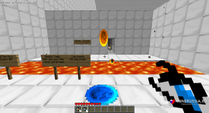 """Мод  портал-пушку """"Portal Gun"""" для Майнкрафт 1.12.2/1.7.10"""