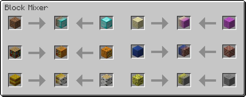 Мод MalisisBlocks Для Майнкрафт 1.12.2/1.11.2/1.8.9