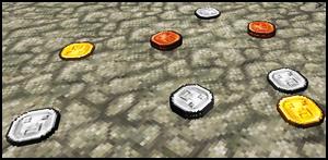 Мод Ordinary Coins Для Майнкрафт 1.12.2/1.10.2/1.7.10