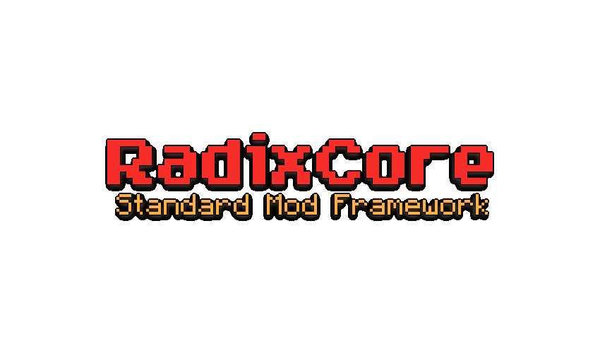 RadixCore Для Майнкрафт 1.12.2/1.7.10