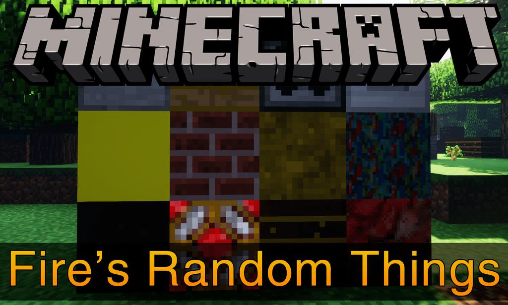Мод Random Things Для Майнкрафт 1.12.2/1.7.10
