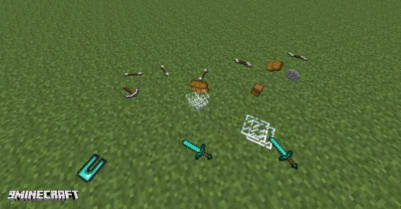 Мод Realistic Item Drops Для Майнкрафт 1.12.2/1.11.2