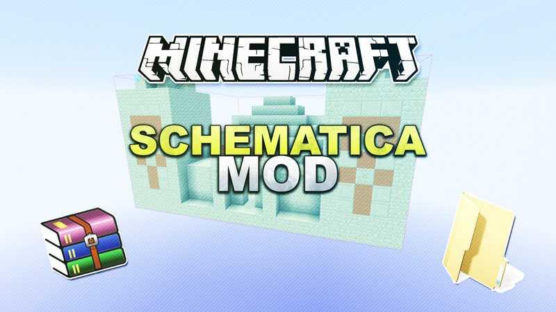Мод Schematica Для Майнкрафт 1.12.2/1.7.10
