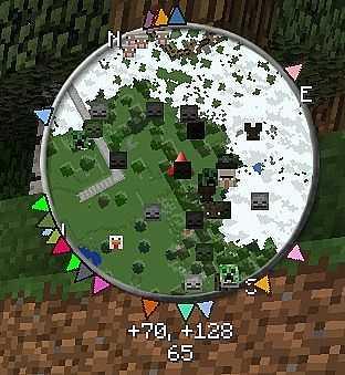 Мод на мини-карту «VoxelMap» Майнкрафт1.15.1/1.14.4/1.12.2 - скриншот 6