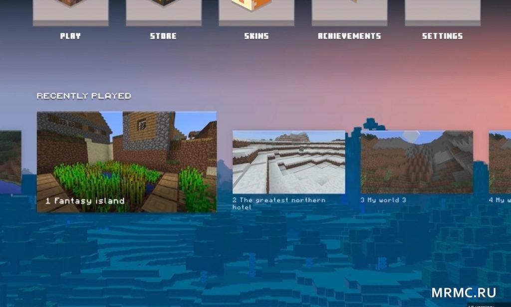 В Майнкрафт Bedrock Edition изменят интерфейс и меню