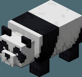 Панда в Майнкрафт 1.14
