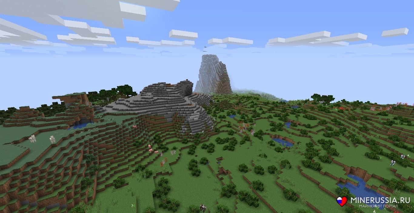 Мод на биомы «The Biome Overhaul» - скриншот 1