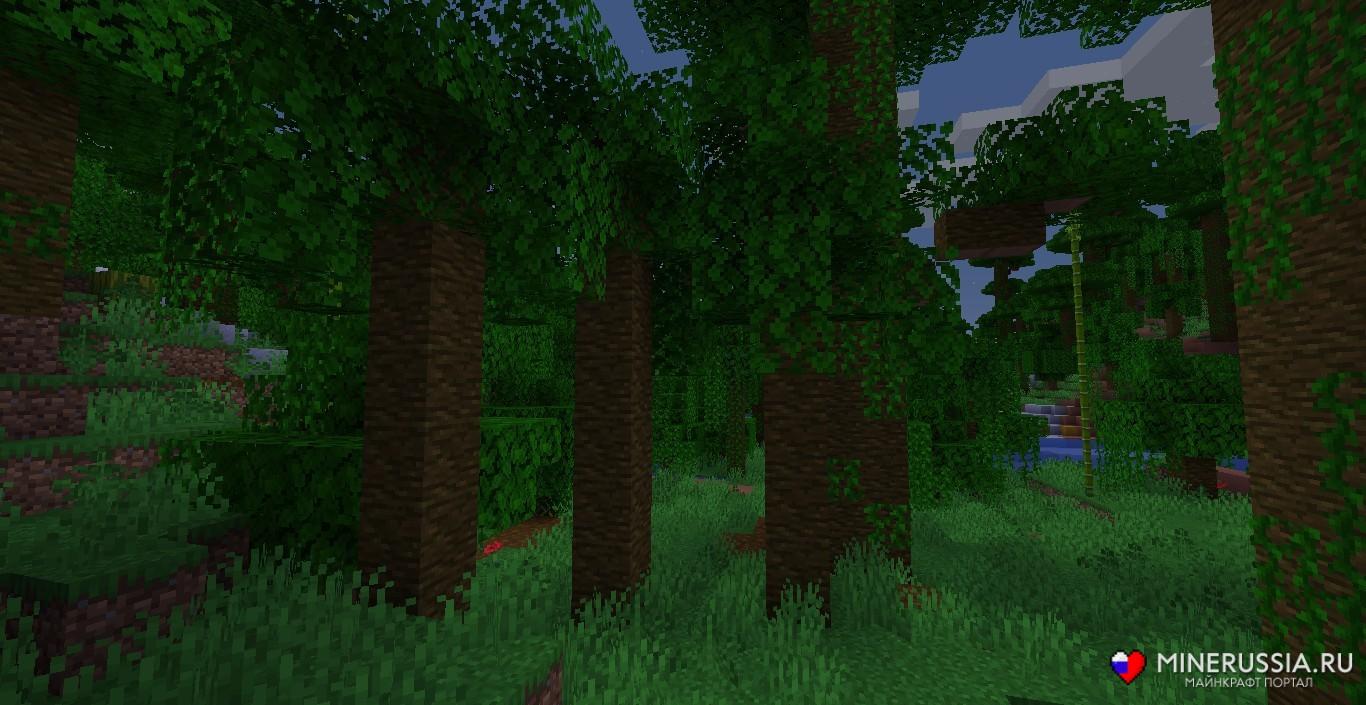 Мод на биомы «The Biome Overhaul» - скриншот 6