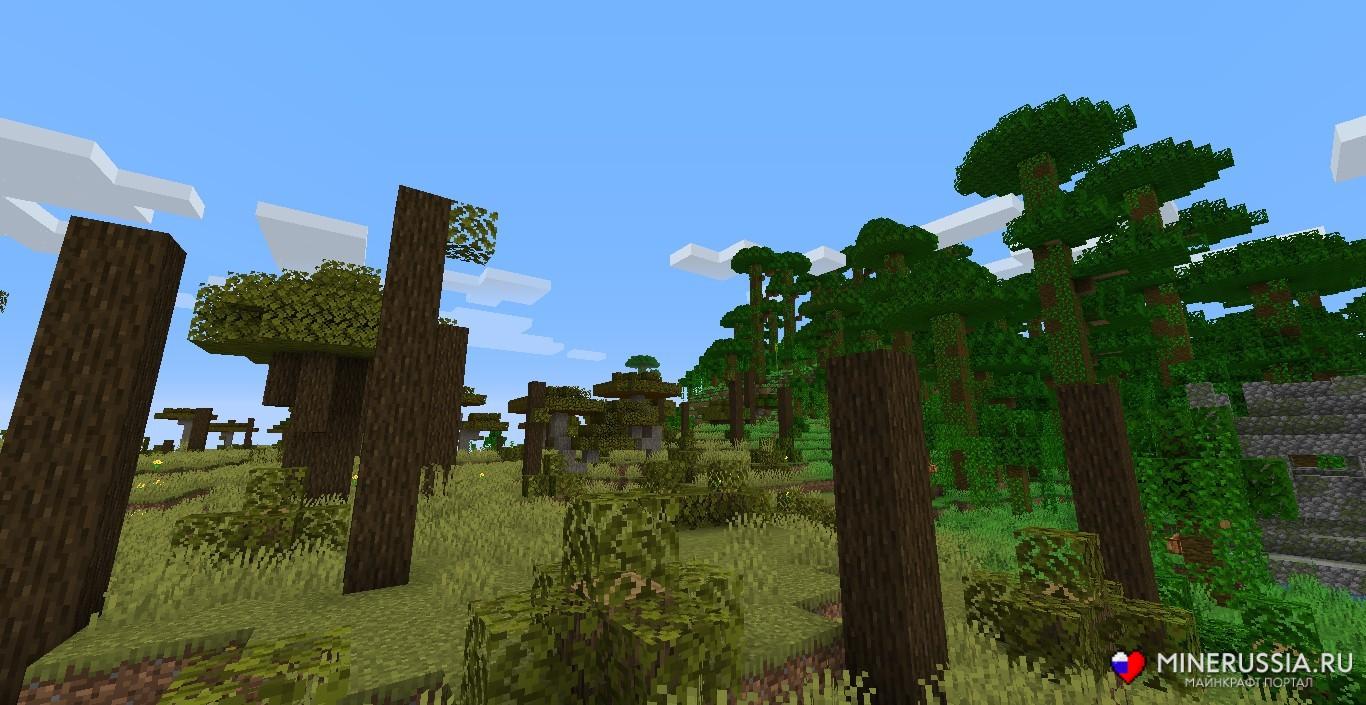 Мод на биомы «The Biome Overhaul» - скриншот 4