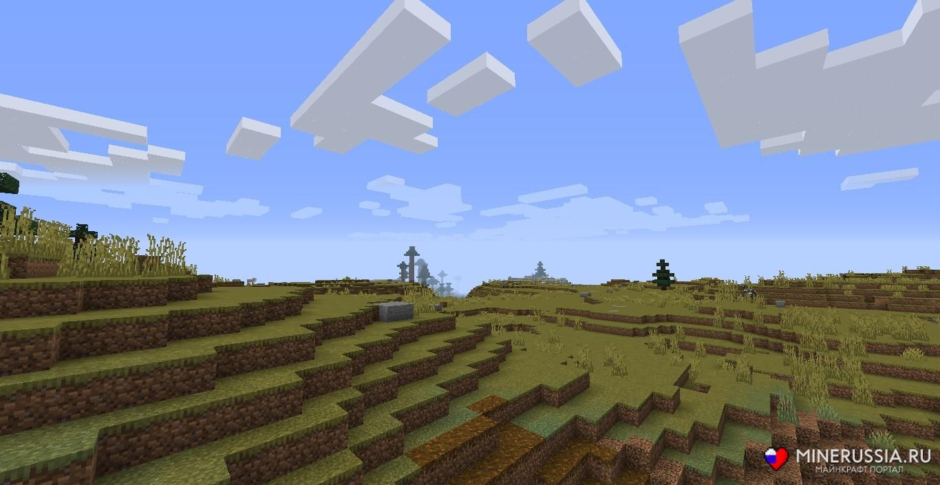 Мод на биомы «The Biome Overhaul» - скриншот 7