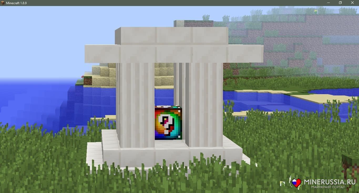 Мод на спиральные лаки-блоки для Майнкрафт