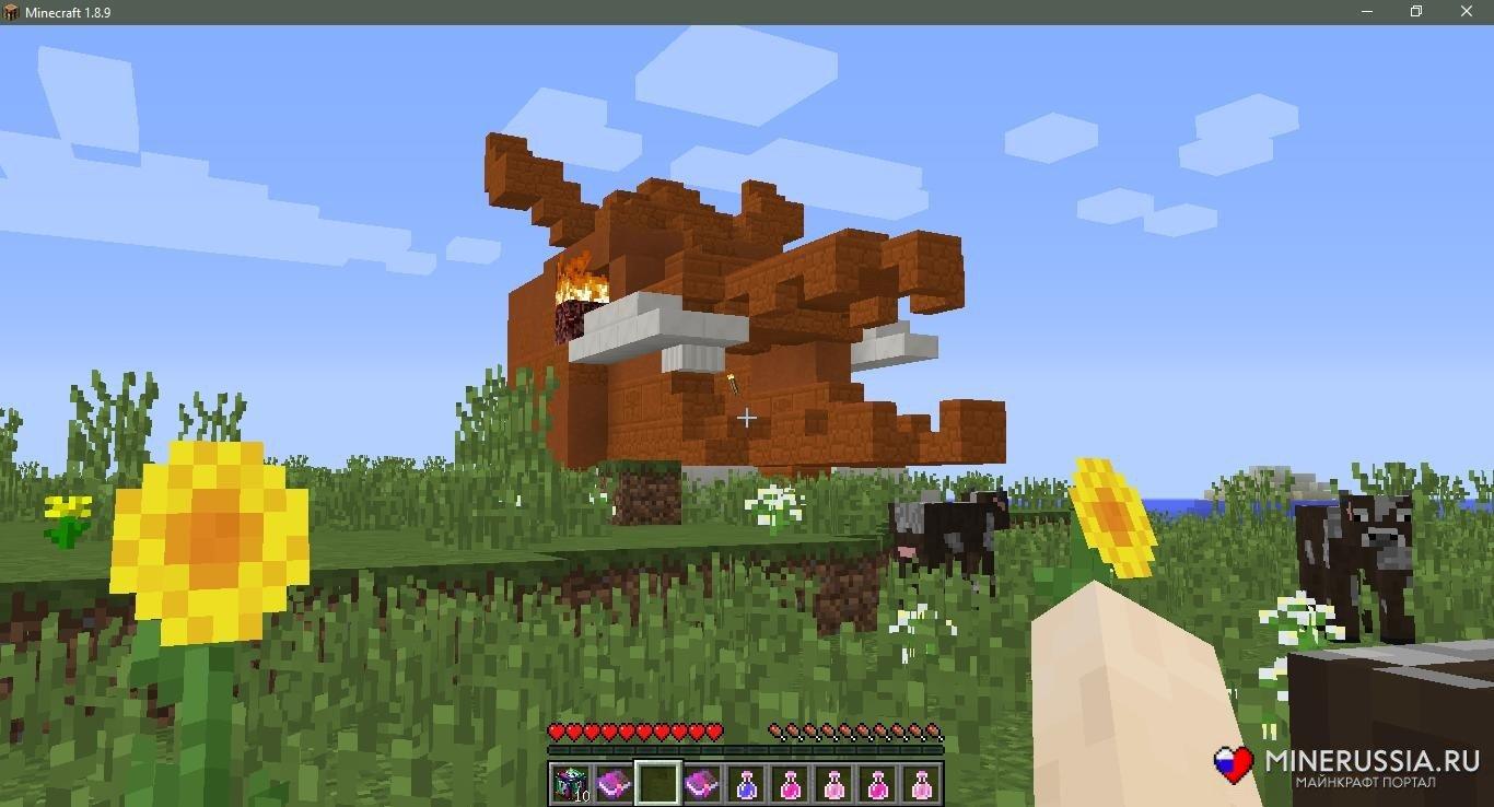 Мод на спиральные лаки-блоки (Аддон) дляМайнкрафт - скриншот 12