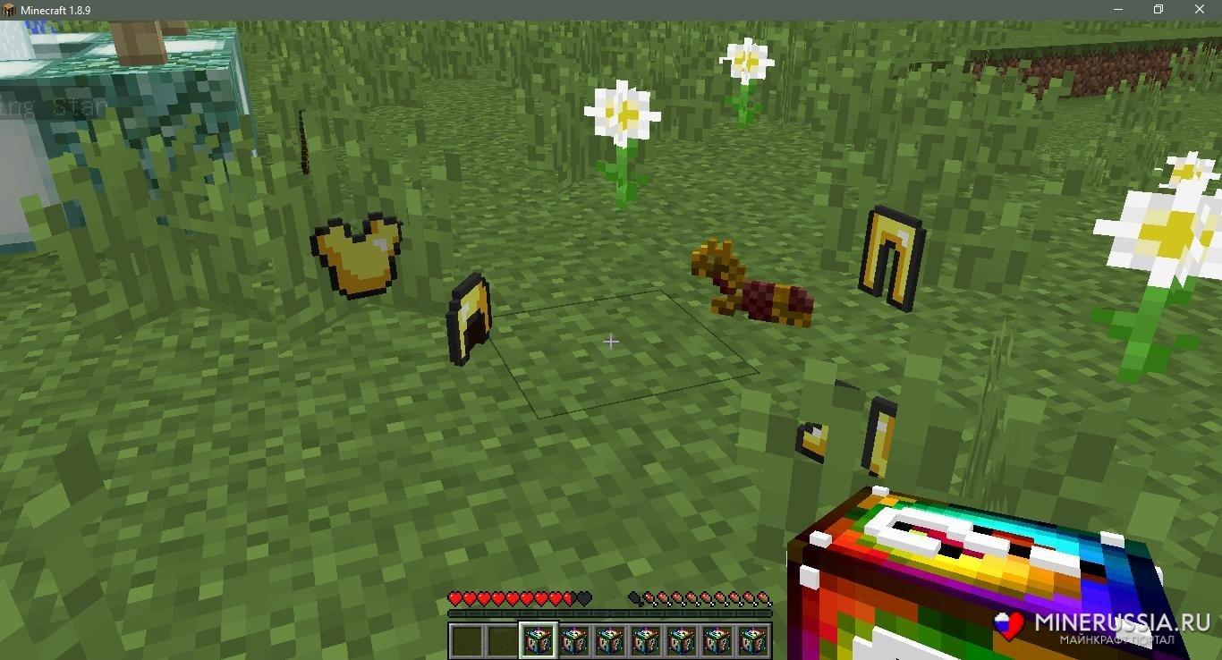 Мод на спиральные лаки-блоки (Аддон) дляМайнкрафт - скриншот 10
