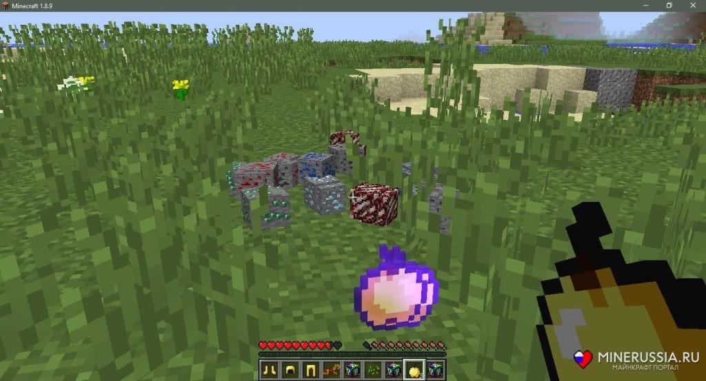 Мод наспиральные лаки-блоки (Аддон) - скриншот 8