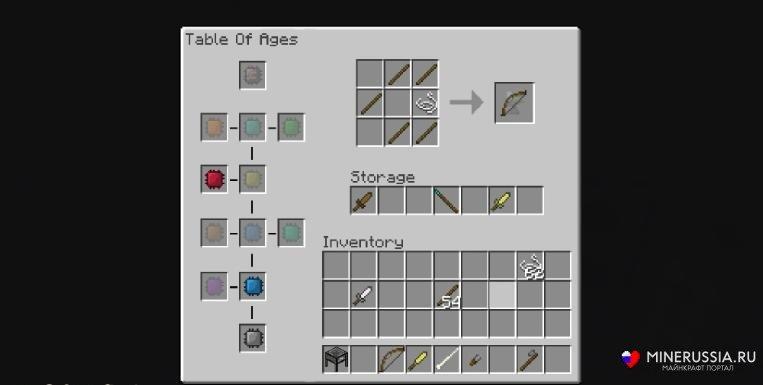 Мод на оружие разных времен - скриншот 1