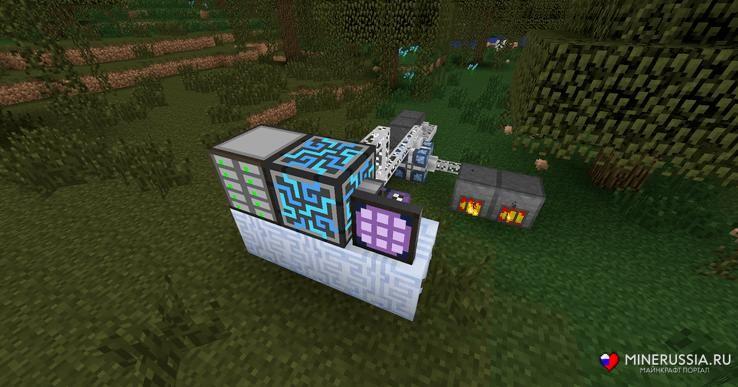 "Мод ""Applied Energistics 2"" для Майнкрафт 1.12.2/1.7.10"