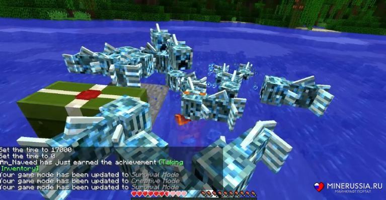 Мод на мутанта рыба-крипер - скриншот 10