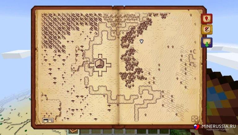 "Мод ""Antique Atlas"" для Майнкрафт 1.14.2/1.12.2/1.7.10"