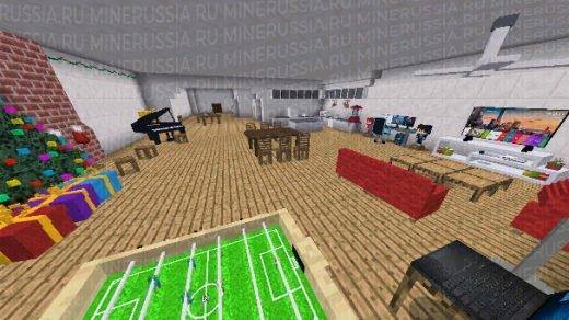 "Мод на мебель ""Furnicraft "" для Майнкрафт PE 1.8.0"