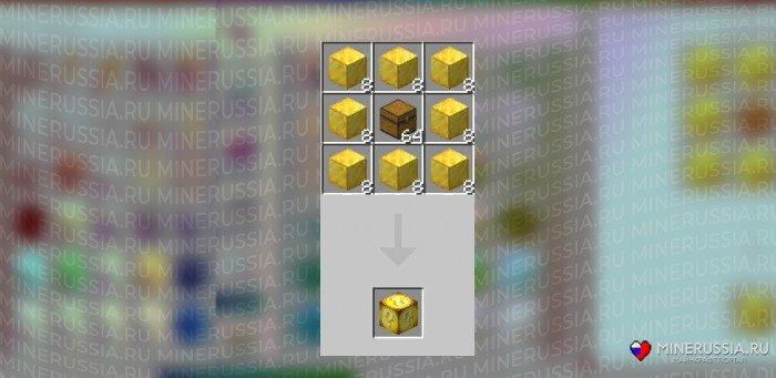Рецепт крафта лаки-блока