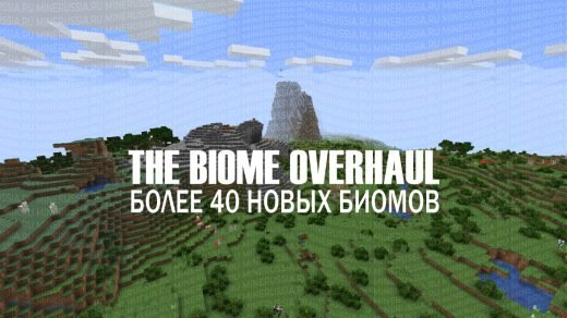 "Мод на биомы ""The Biome Overhaul"" для Майнкрафт 1.14/1.14.1/1.14.2"