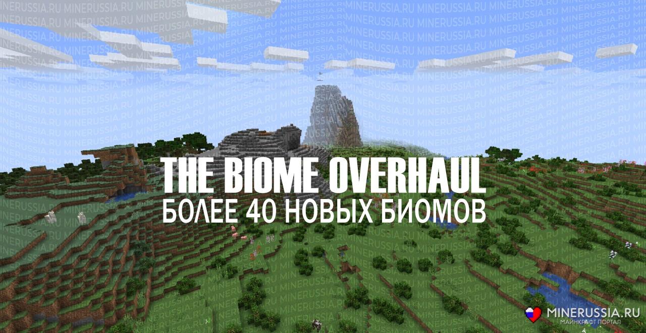 "Мод на биомы ""The Biome Overhaul"" для Майнкрафт 1.14/1.14.1/1.14.2"