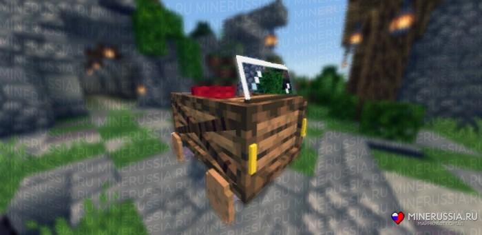 Мод на деревянные машины для Майнкрафт PE1.11.0+