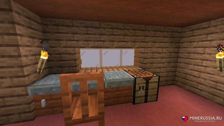 "Мод на мебель ""Adorn"" для Майнкрафт 1.14.2"